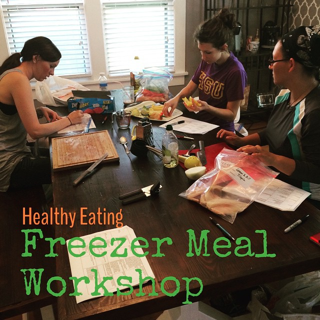 Freezer Meal Workshops with Velata!