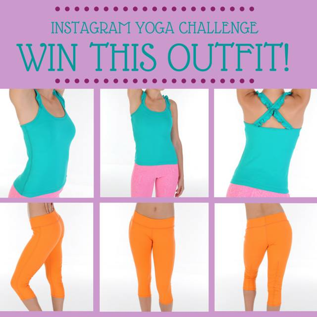WIN this outfit from Brick Betty when you participate in the #DownDogDaysofYoga Challenge with @BrittanySuell