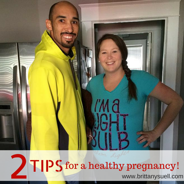 Start now, get active and healthy and use these 2 Tips for a healthy pregnancy!