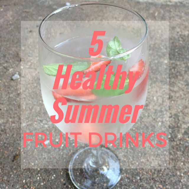 Why we shouldn't give our kids juice, plus 5 awesome summery fruit drinks recipes that are good for you!