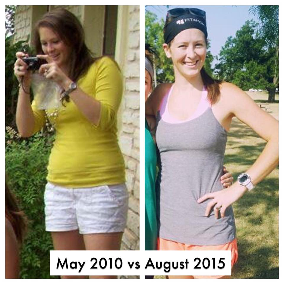 Transformation photos! Proof that you can be your healthiest and look better after having a baby!