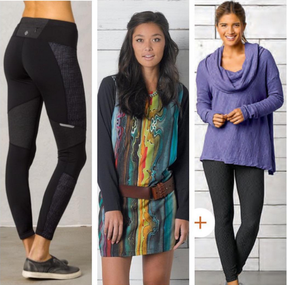 Let's get stretchy with Prana #7DayStretch new fall line!