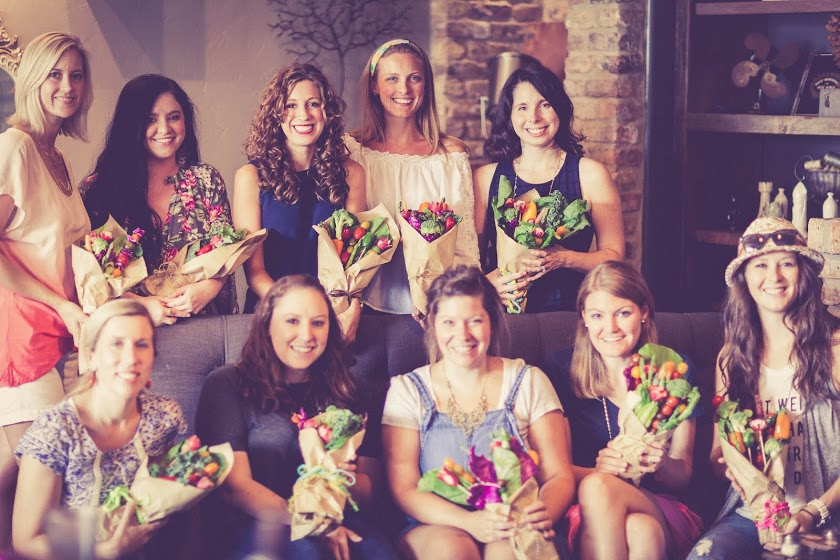 DIY Grocery Bouquet Workshop