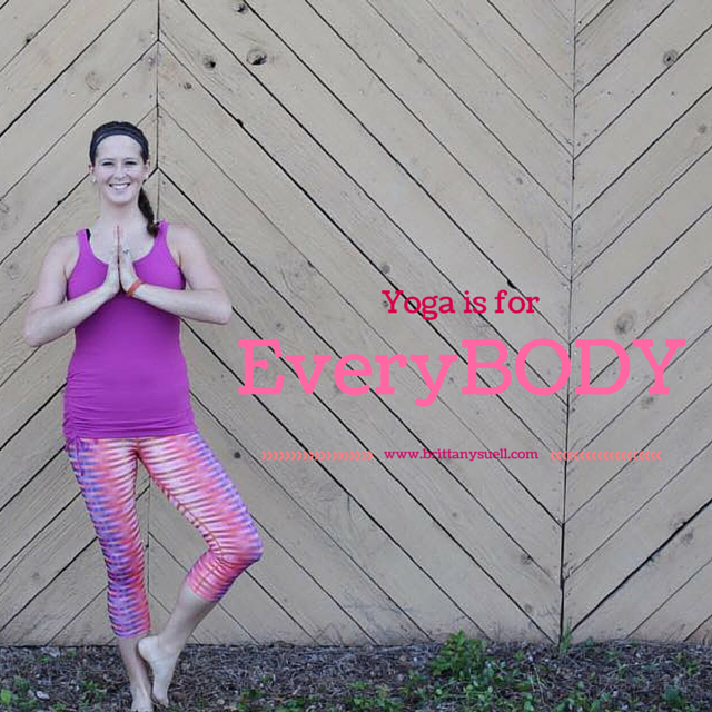 Yoga is for EveryBODY! We all need it! It helps to strengthen our muscles and joints as we ago, plus helps to keep us stress free and calm in such a busy world!