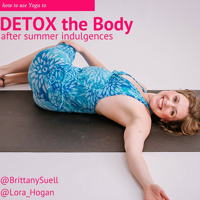 lora hogan sharing about detoxing at the end of the summer on BrittanySuell.com