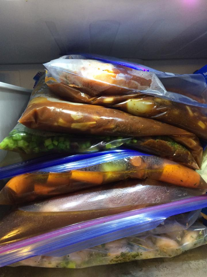 Freezer Meals! How I Stay Balanced when life gets crazy!