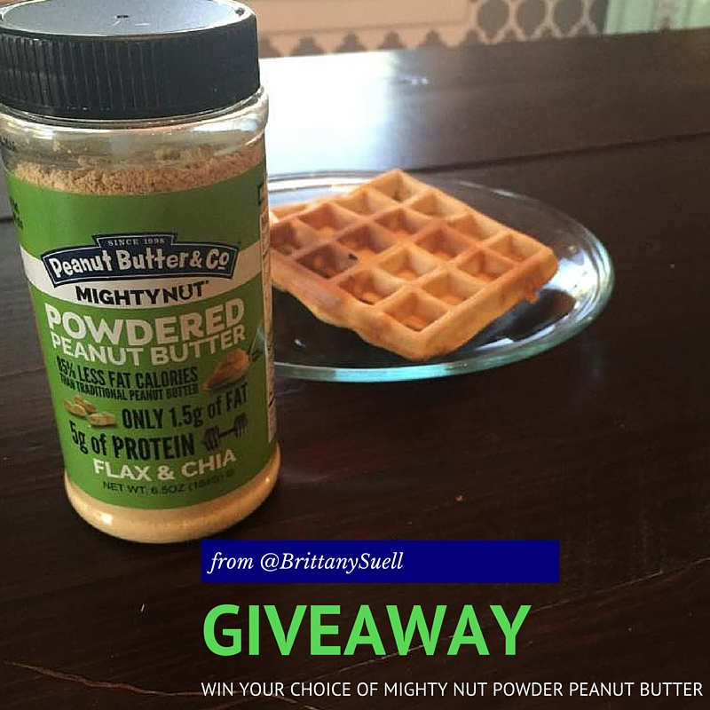 Add Might Nut Powdered Peanut Butter to any recipe! Enter to WIN @GoMightyNut! #EatMighty @fitapproach #sweatpink mightynut.com
