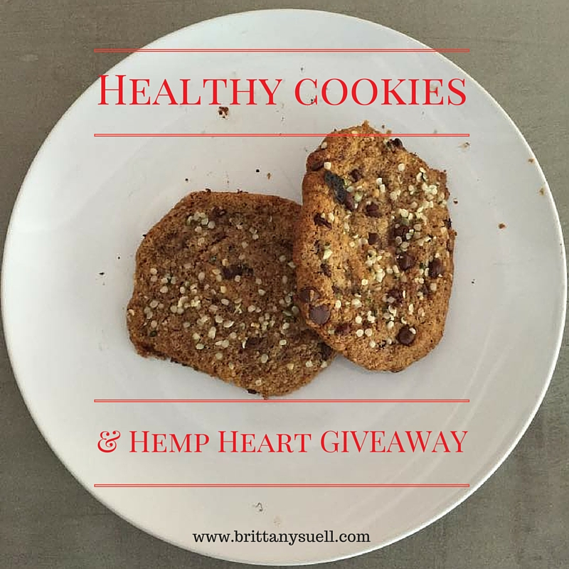 Healthy cookies and a hemp heart giveaway!