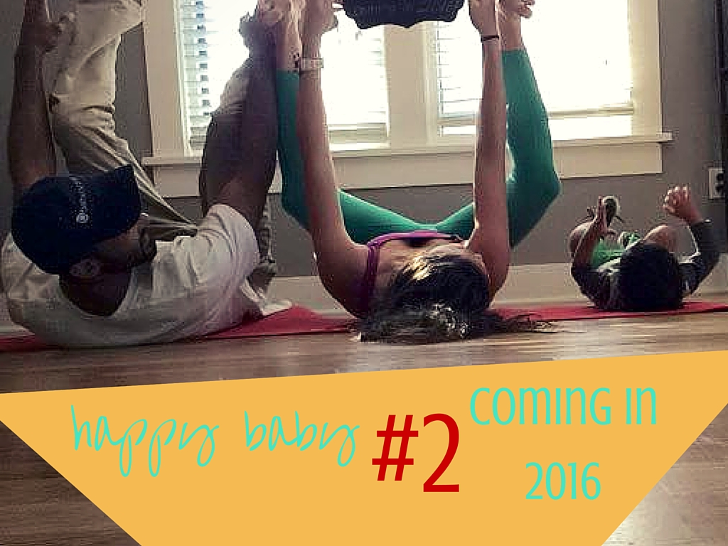 Yoga Pregnancy Announcement