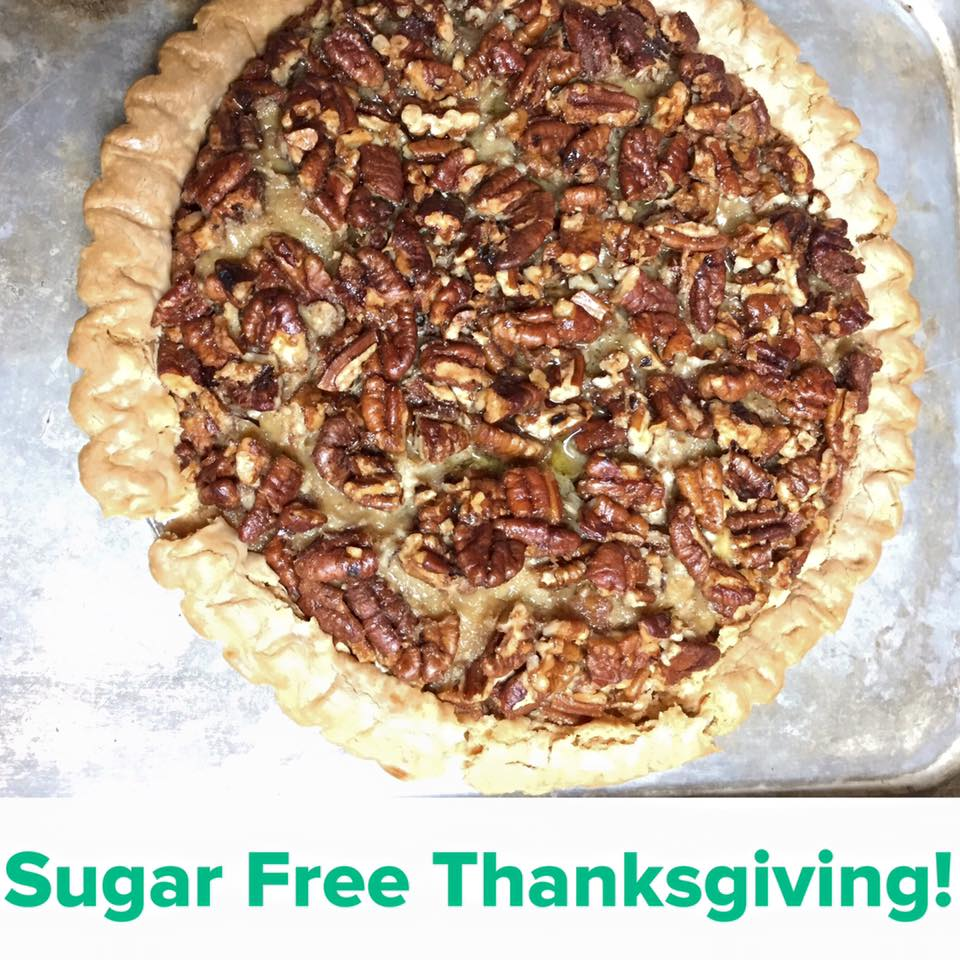 Sugar Free Pecan Pie for the whole family!