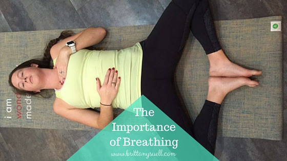 The Importance of Breathing, try this breathing technique to decrease stress!