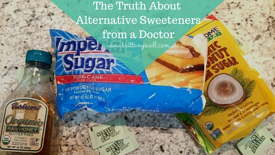 The Truth About Alternative Sweeteners from a Doctor-2