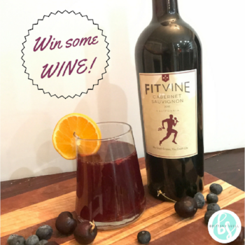 Enter to WIN a bottle of Fit Vine Wine  HERE!
