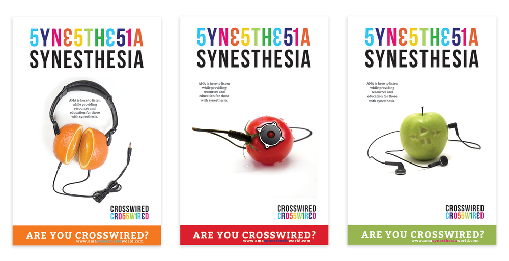 Synethesia poster designs