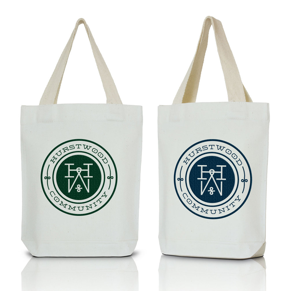 Hurstwood Community Tote Bags