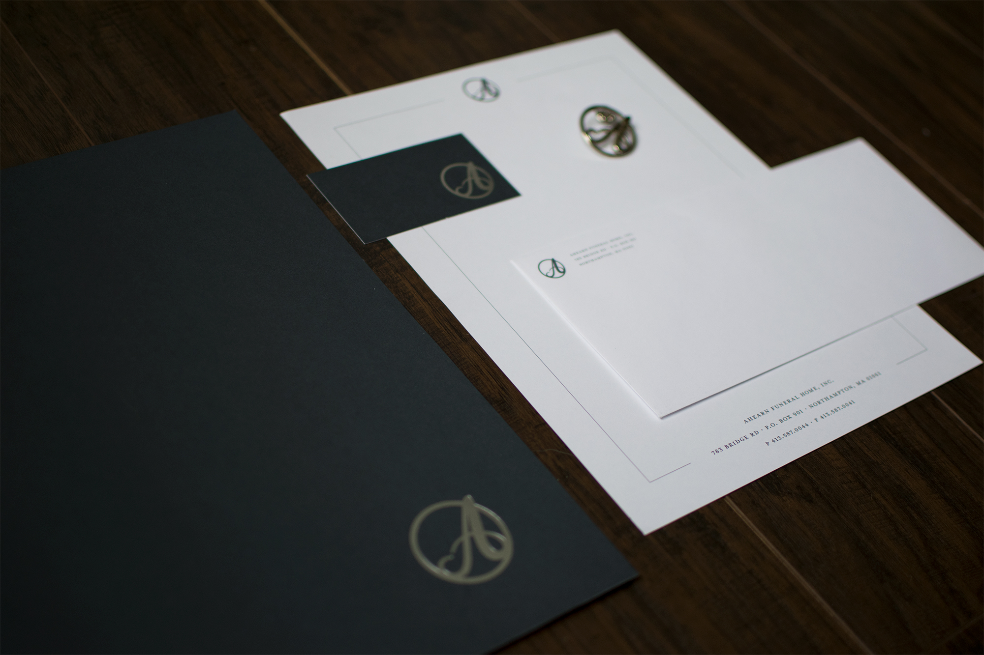 Ahearn Funeral Home — Branding & Graphic Design Services