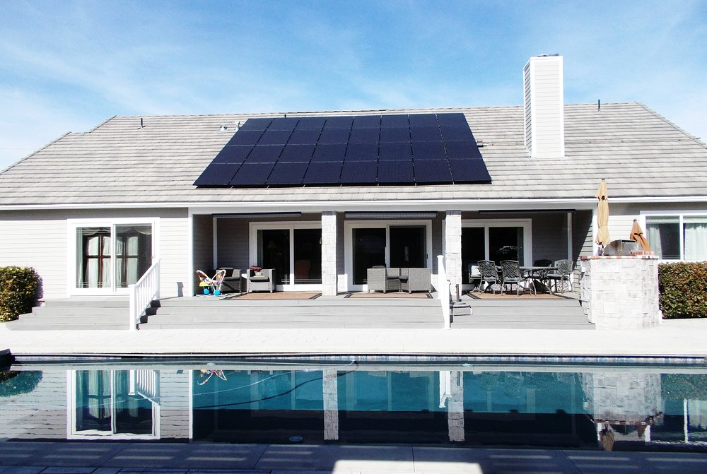 Solar LG panels in San Diego and Orange County