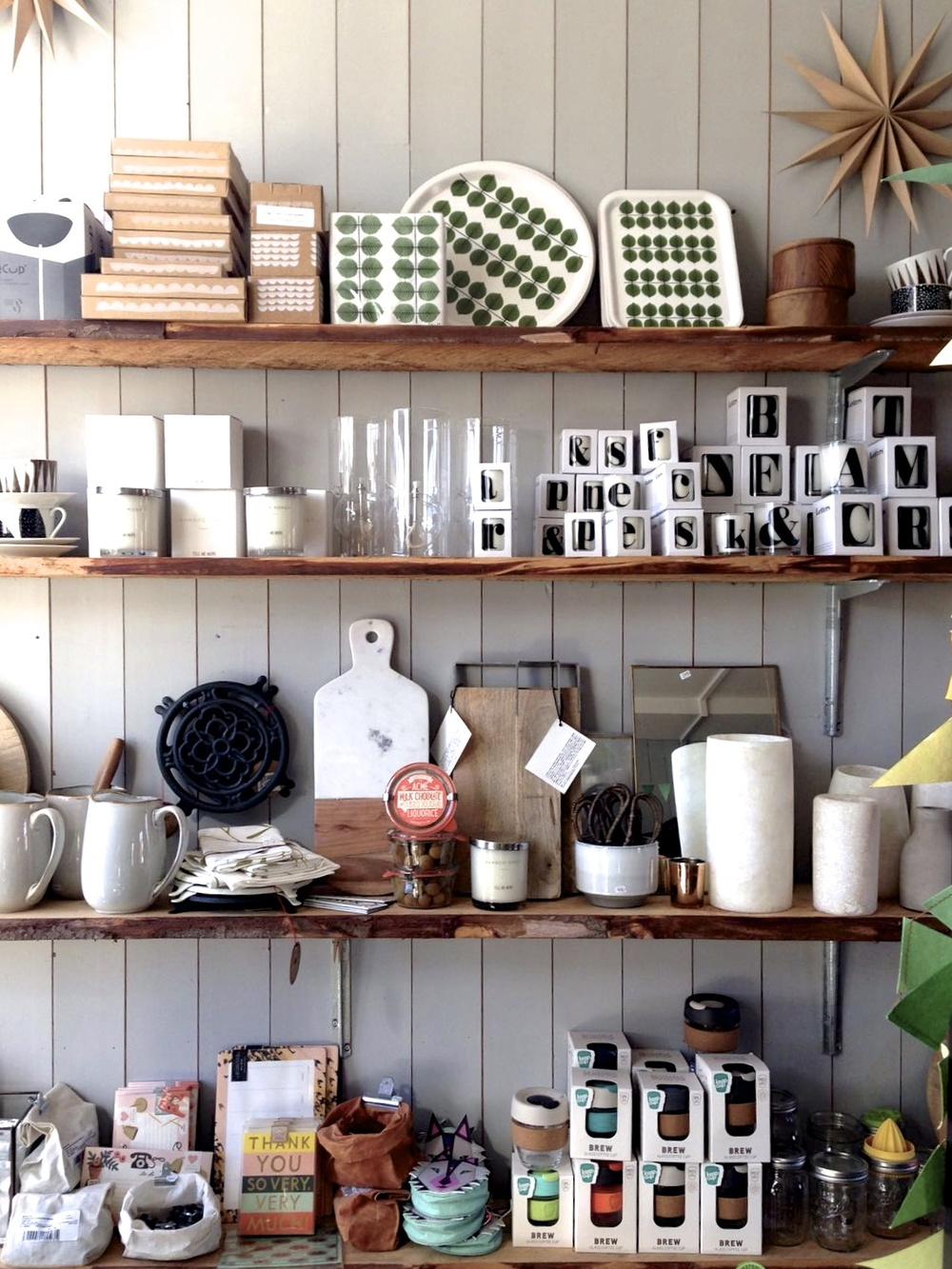Café Flora also sells beautiful scandinavian inspired products.