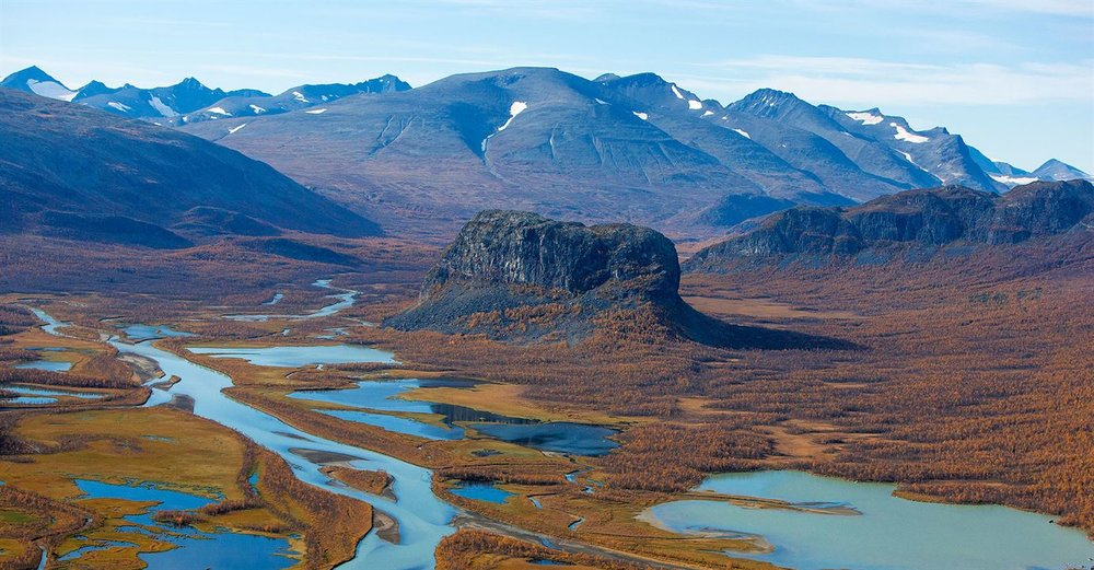 Rapadalen (the Rapa Valley). Photo: Peter Rosén, Lapplandmedia