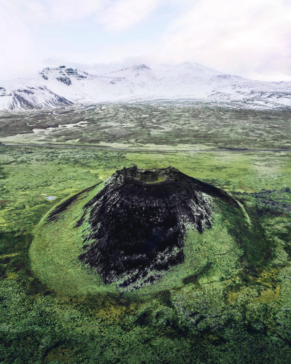 Saxhóll Crater, Snæfellsnes Peninsula