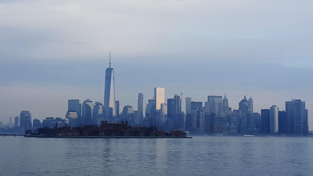 A step from Manhattan