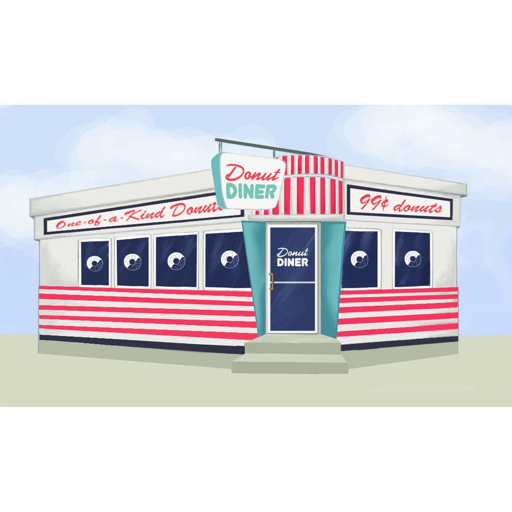 Donut Diner concept