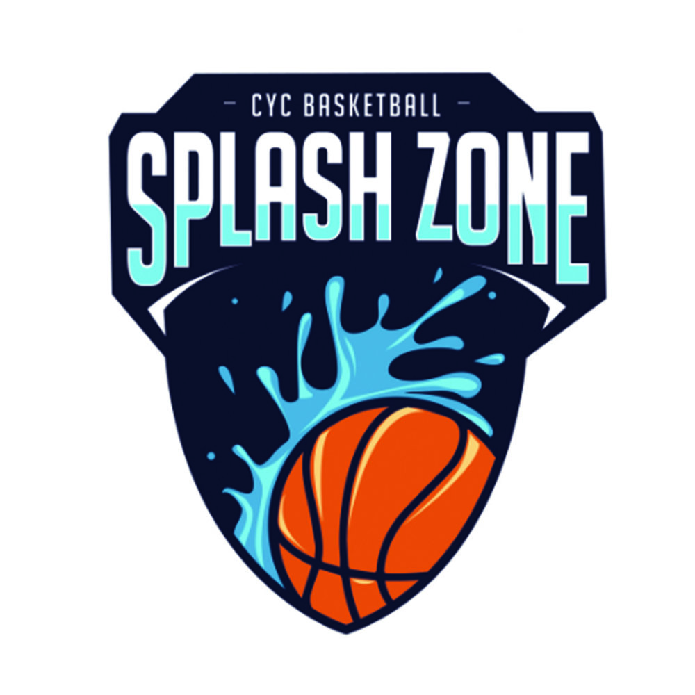 Splash Zone basketball team logo