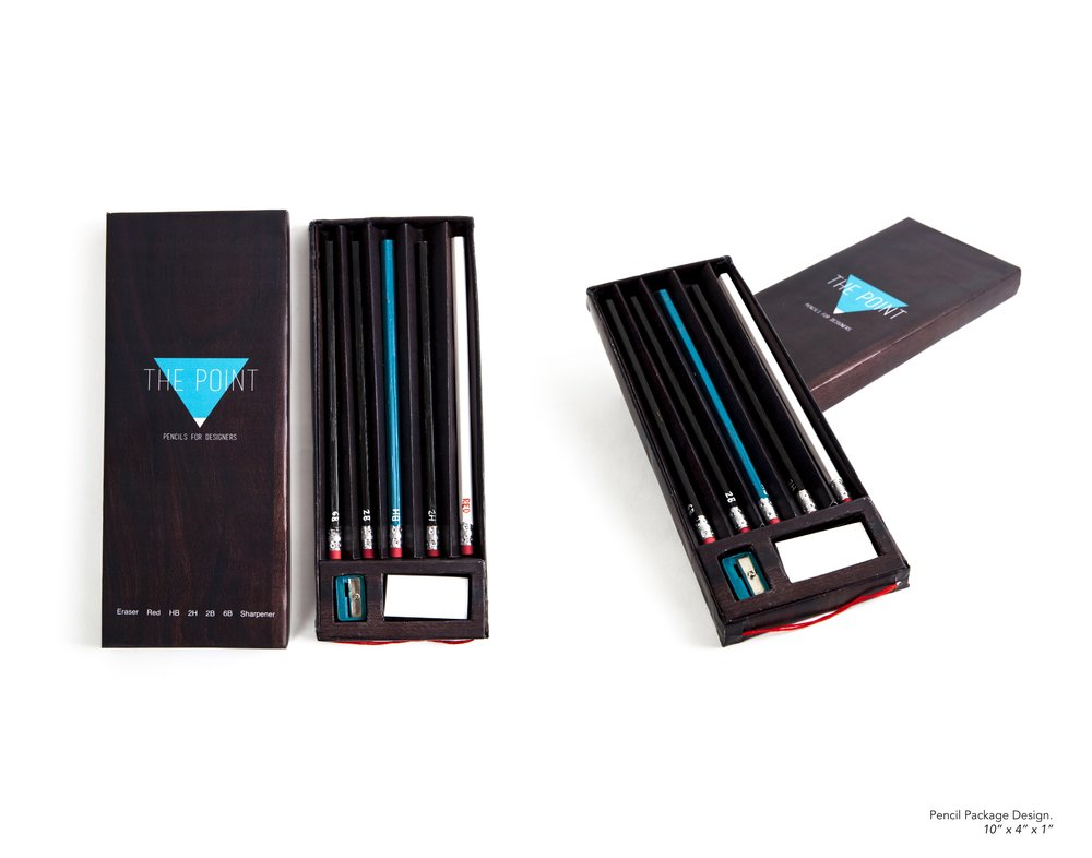 Pencil Package Design - Logo and package design for artist pencils.