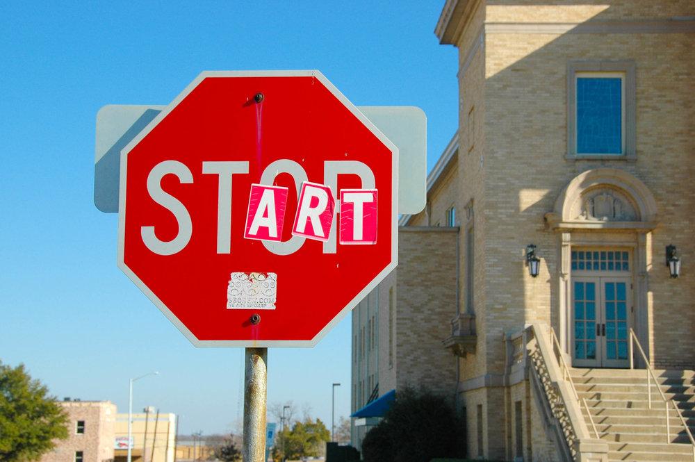 Start, start and start again
