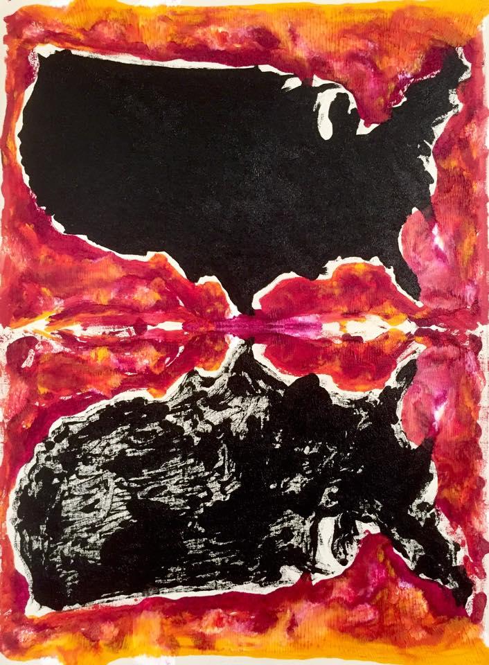 Rorschach America No.4