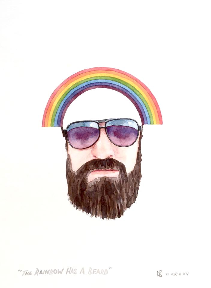 The Rainbow Has A Beard