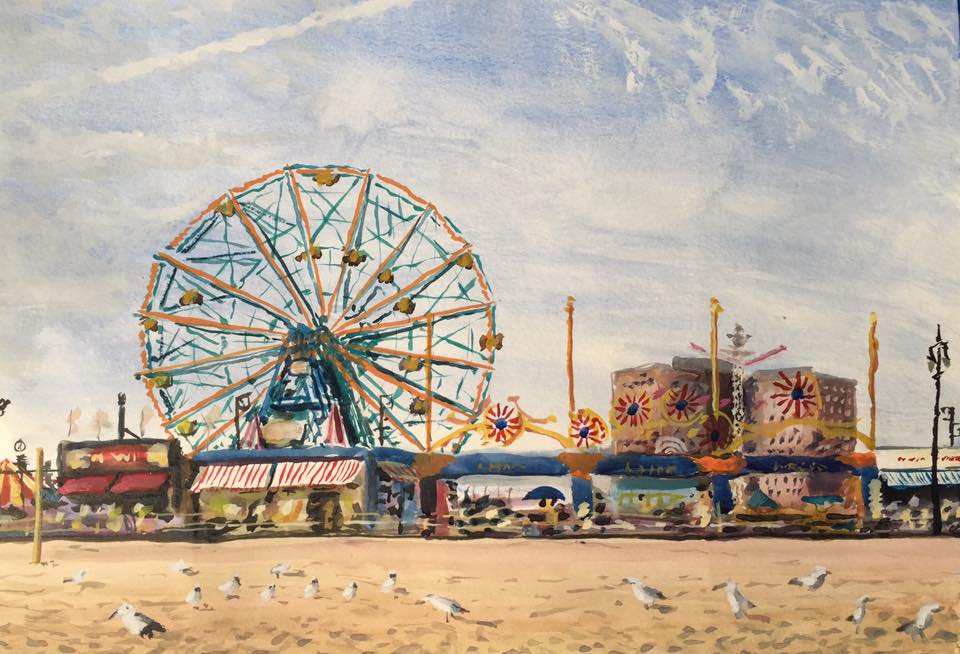 Luna Park, Coney Island, Wonder Wheel