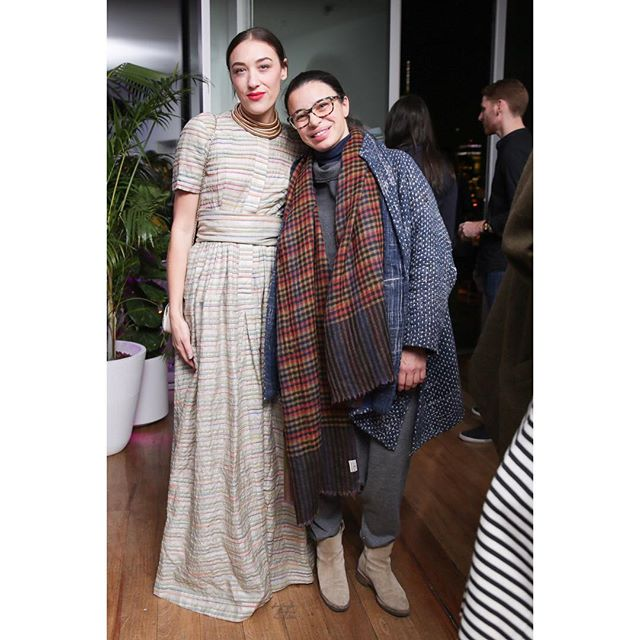 "Stunning as always @miamoretti!Celebrating @callmemargot and @globaliza ""Isn't She Lovely"" track debut. Photo @bfa #artists #muses #courageous #adore"