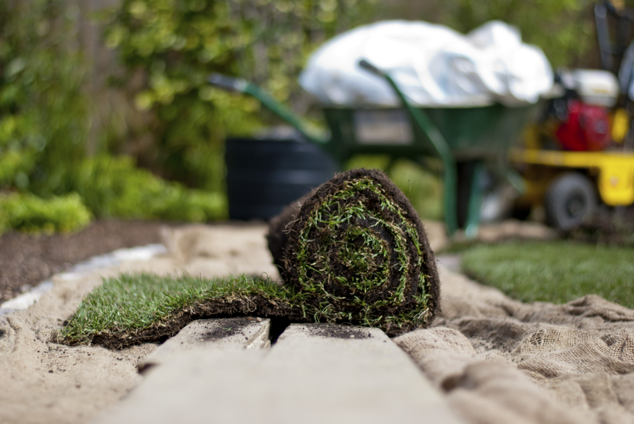 Grass/Turf Installation