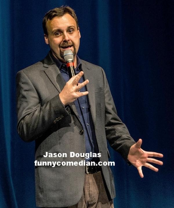 Jason Douglas - funnycomedian.com