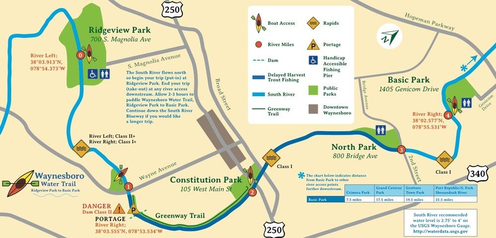 Download the entire Waynesboro Water Trail brochure HERE