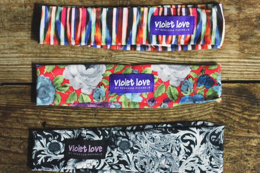 Violet Love Headband $19