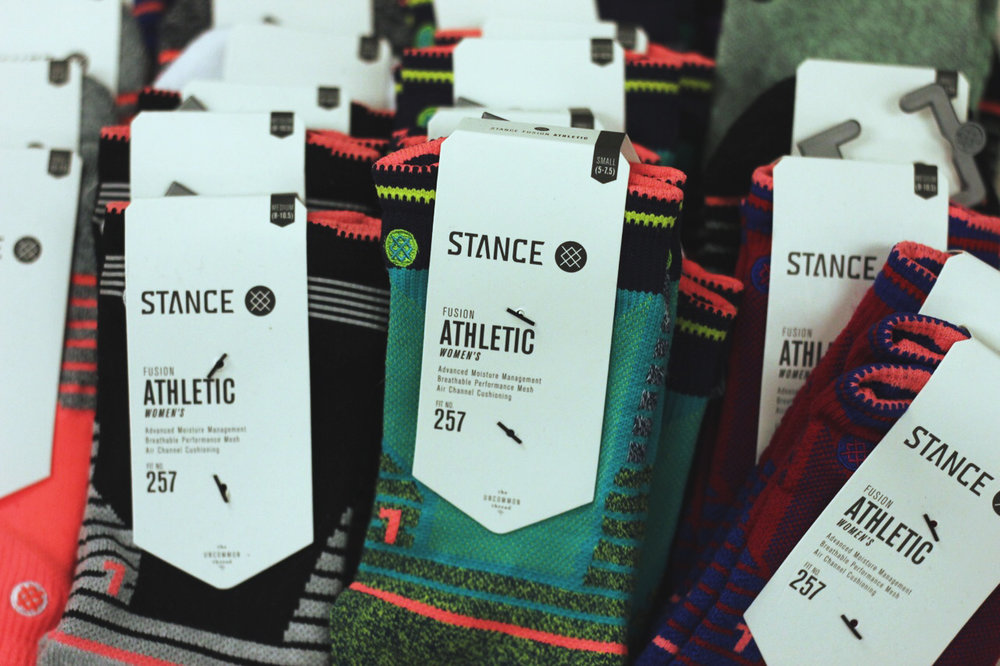 Stance Athletic Socks $12