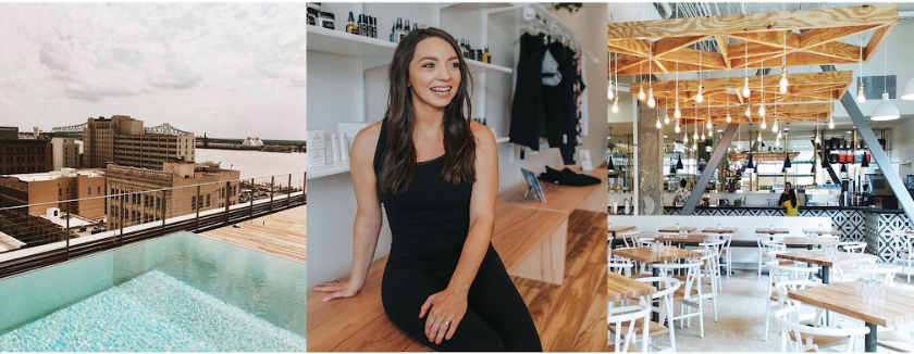 Join us Saturday July 14th for a rooftop fitness class led by Savanna Latimer, the creator of Ego.  Coffee, tea, + bites to follow at Magpie Cafe Downtown