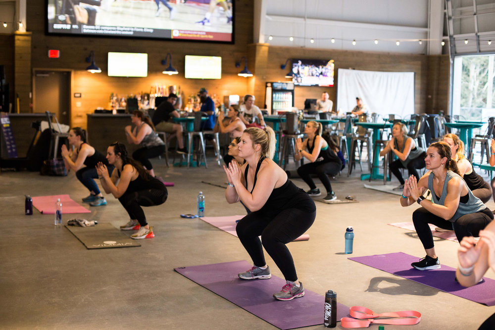 Join us for a complimentary cardio class, led by owner Kristen Arsenault, at Light House Coffee on Friday November 9 at 7:00AM!  Don't forget your mat!