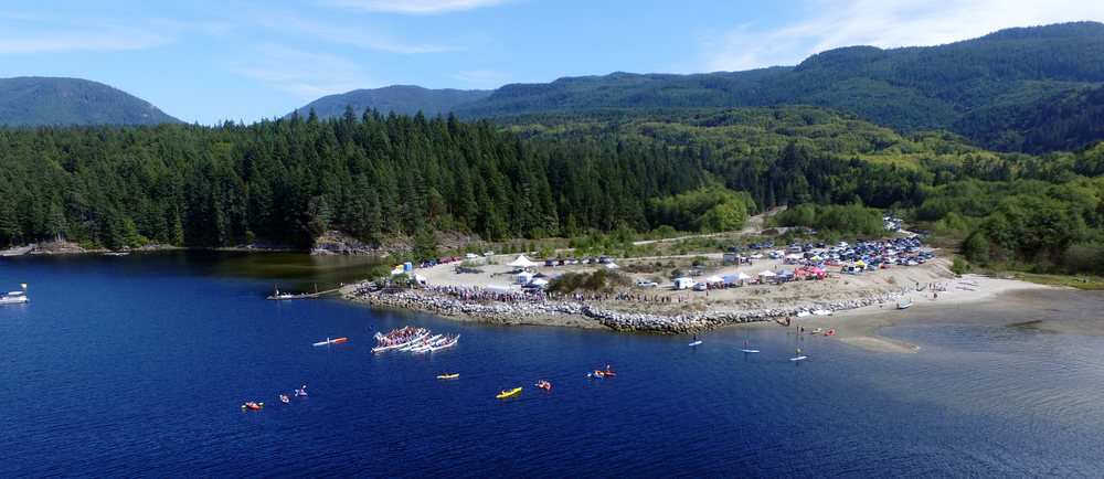 The 2015 Sechelt Paddling Festival on our beautiful waterfront.