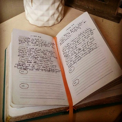 Ifeyinwa's one-line-a-day journal