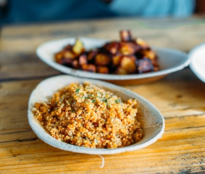 Chuku's signature Nigerian jollof quinoa