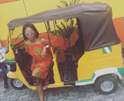 Pop Up Africa's Jessica Laditan enjoying Lagos