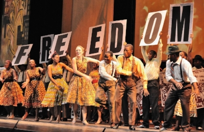 Cape Town Opera performing the Nelson Mandela Trilogy (Credit: John Snelling)