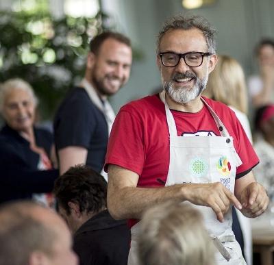 Lopè Ariyo's inspiration - Massimo Bottura