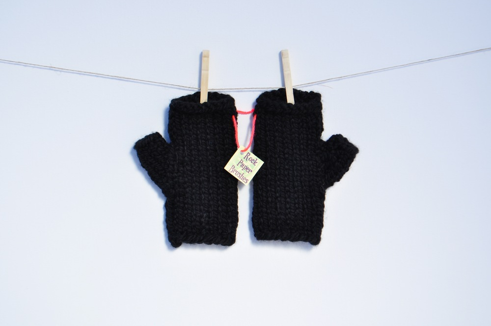 Bulky Fingerless Gloves