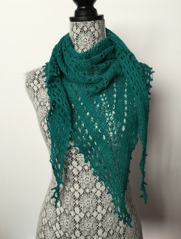 Lace Triangle Shawl