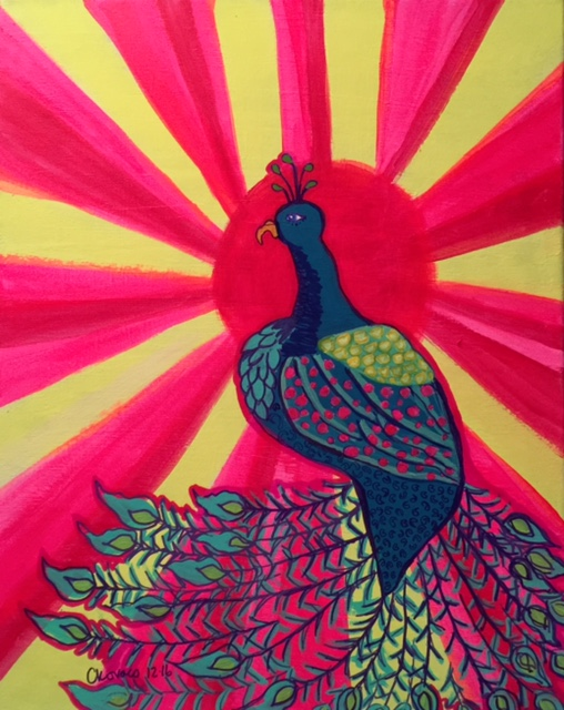 Peacock WOW!