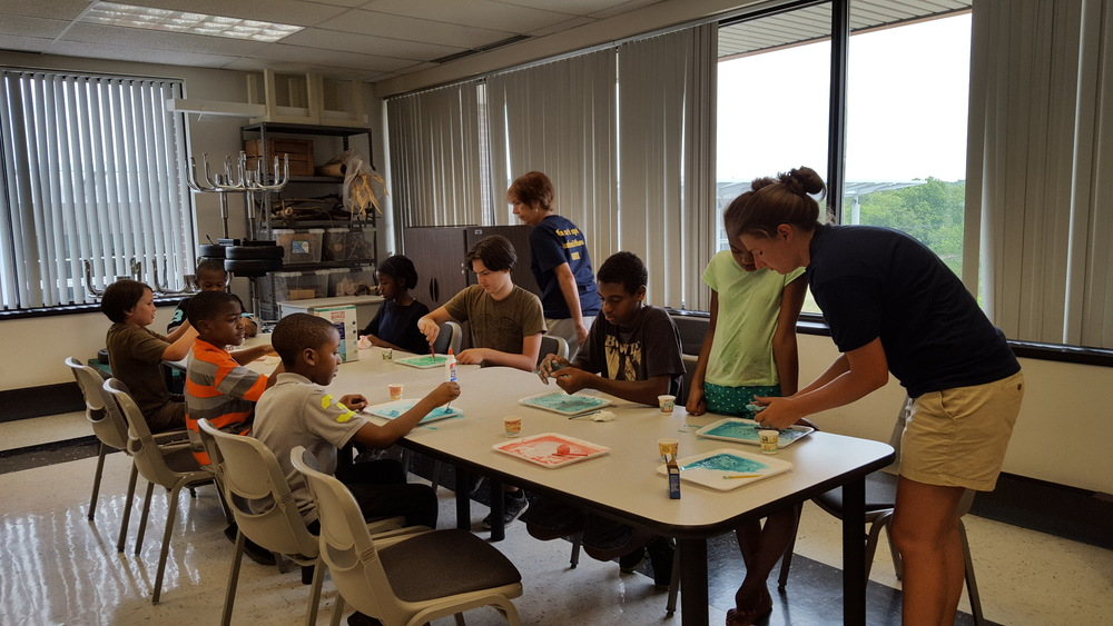 Kids on Campus Summer Science Survivor Camp